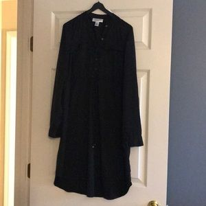 Motherhood Maternity black shirt dress